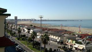 Пляж Виареджо