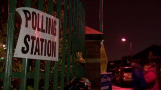 Polling stations closed at 22:00 GMT on Thursday