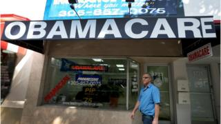 Man enrols in Obamacare in Florida