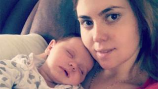 New mother says she 'found bandages in my body'