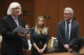 """When asked if she was relieved, Mathers told reporters """"no comment""""."""