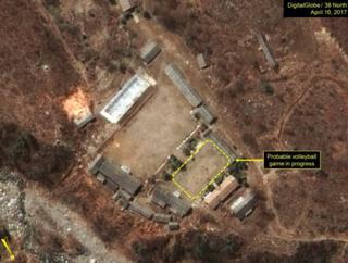 Imagens satélites da base de teste