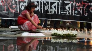 Buji zacanwe mu mujyi wa Kolkata mu Buhinde mu kwibuka abishwe.