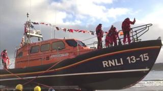 New lifeboat