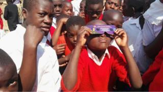 Children in Mbeya in southern Tanzania, 1 September 2016