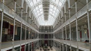 National Museum of Scotland by Huub Moolenaar