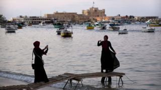 Fukwe za Alexandria, Misri