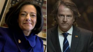 KT McFarland and Donald McGahn