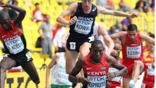 Conseslus Kipruto aliyeishindia kenya medali ya dhahabu
