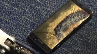 The device was thrown onto the floor of the plane, owner Brian Green said