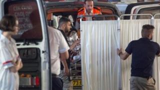 مسعفون إسرائيليون