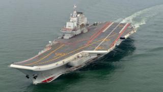 China, aircraft carrier, South China Sea