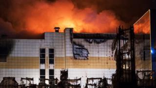 "Пожар в кемеровском ТЦ ""Зимняя вишня"""