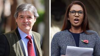 Rhodri Colwyn Philipps and Gina Miller composite