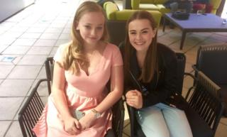 Madison Wolfe and Sydney Wade