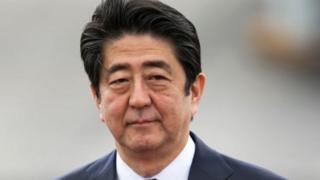 Waziri mkuu wa Japan, Shinzo Abe