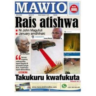 Le président John Magufuli a mis en garde mercredi les médias et l'opposition contre ces accusations.