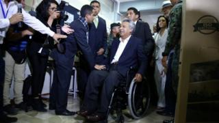 O presidente eleito do Equador, Lenín Moreno