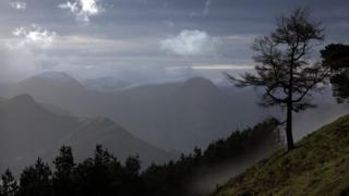 вид на холмы