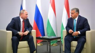 Rusya Devlet Başkanı Vladimir Putin ve Macaristan Başbakanı Viktor Orban