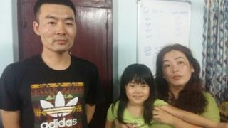 4 साल की चीनी लड़की हान रिउ होउ