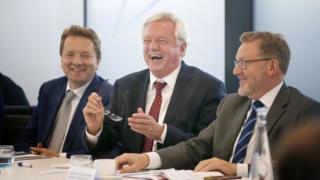 James Chapman, David Davis and David Mundell