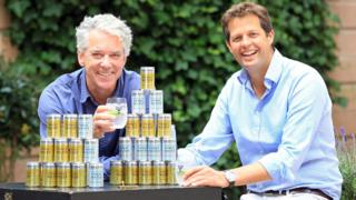 Fever-Tree founders Charles Rolls and Tim Warrillow