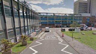 Victoria Hospital in Kirkcaldy