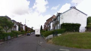 Hillend Road, near its junction with Eriboll Crescent