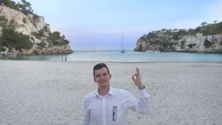 Joe Furness in Menorca