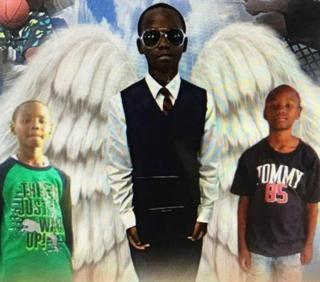 Alton Banks, 10, is seen in this family handout.
