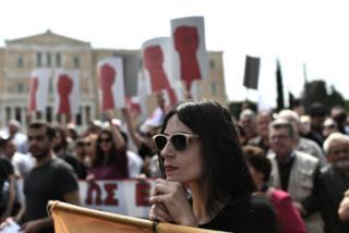 Yunanistan'da 1 Mayıs kutlamaları
