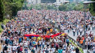 تظاهرات روز 19 آوریل در کاراکاس
