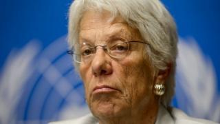 Carla Del Ponte ayaa xilka ka tegaysa
