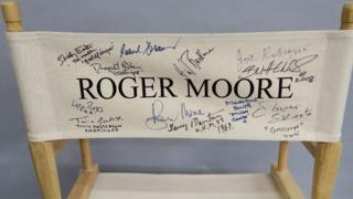 A Sir Roger Moore chair