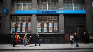 Co-op Bank exterior