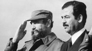 صدام، کاسترو