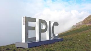 An Epic sign at Pen-y-Gwryd, Snowdon