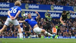 Chelsea waunyuka Everton 3-0