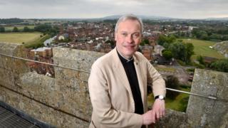 Paul Williams, vicar of Tewkesbury Abbey