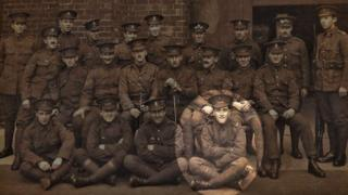 The First Battalion of the Welsh Regiment
