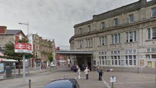 Swansea station