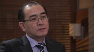 北朝鮮のテ・ヨンホ元駐英公使