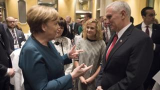 Merkel ve Pence