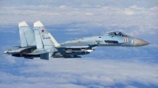 Russian Sukhoi Su-27 fighter - file pic