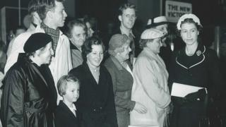 The Queen visited the New Victoria cinema for the Gene Kelly film in 1956
