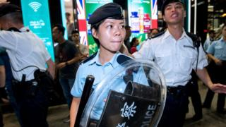Гонконгская полиция