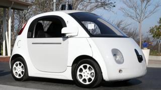 Google / Waymo driverless car