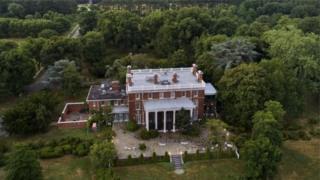Maryland'de bulunan Ruslara ait diplomatik konut