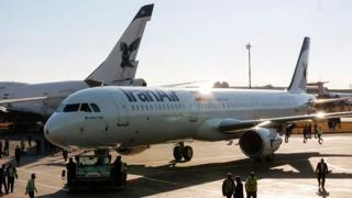 Iran Air uçağı